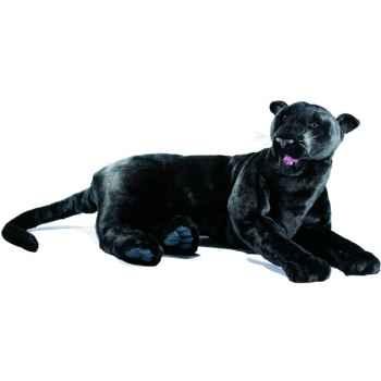 Anima - Peluche panthère noire couchée 100 cm -4740