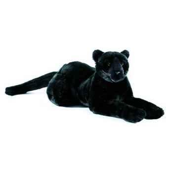 Anima - Peluche panthère noire couchée 35 cm -1619