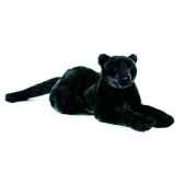 anima peluche panthere noire couchee 50 cm 1621