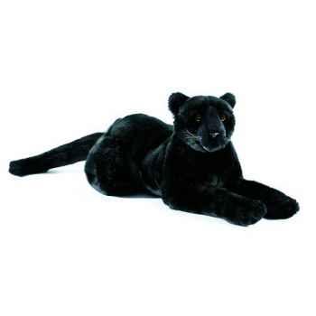 Anima - Peluche panthère noire couchée 50 cm -1621
