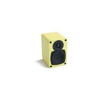 Enceinte compacte jaune tangent -evo e4-j