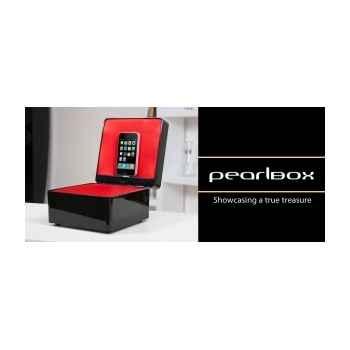 Coffret dock ipod iphone noir tangent -pearlbox-n