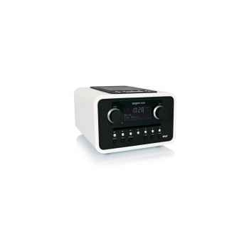 Dock iphone ipod lecteur cd wma mp3 radio blanc tangent -alio mono cdf-b