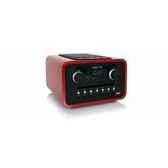 dock iphone ipod lecteur cd wma mp3 radio rouge tangent alio mono cdf r