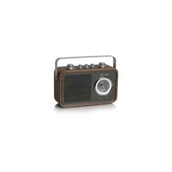 Radio am fm compacte portable noyer tangent -uno 2go-noy