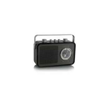 Radio am fm compacte portable noire tangent -uno 2go-noi