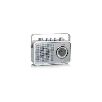 Radio am fm compacte portable blanche tangent -uno 2go-b