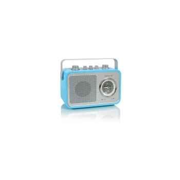 Radio am fm compacte portable bleue claire tangent -uno 2go-bc