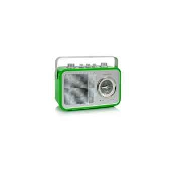 Radio am fm compacte portable vert pomme tangent -uno 2go-vp