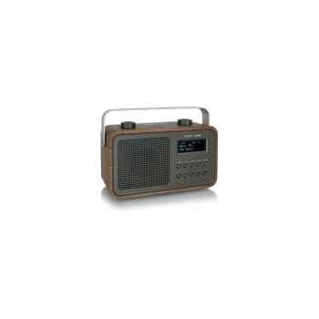 Radio am fm dab compacte portable noyer tangent -dab 2go-noy