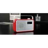 radio am fm dab compacte portable rouge tangent dab 2go r