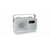 radio am fm dab compacte portable blanche tangent dab 2go b