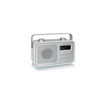 Radio am fm dab compacte portable blanche tangent -dab 2go-b
