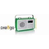radio am fm dab compacte portable vert pomme tangent dab 2go vp