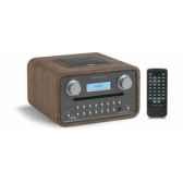poste radio lecteur cd dab fm sorties casque et mp3 noyer tangent radio cinque noy