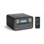 poste radio lecteur cd dab fm sorties casque et mp3 noir tangent radio cinque noi