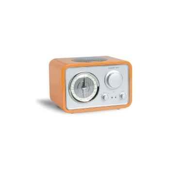 Radio de table am fm laque orange tangent -radio uno-lo
