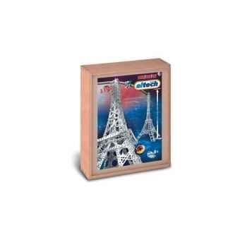 Construction Eitech Tour Eiffel en coffret Bois 100033