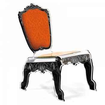 Relax chair baroque orange acrila -rcbo