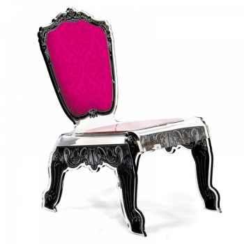 Relax chair baroque rose acrila -rcbr