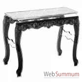 table console baroque blanche acrila tcbb