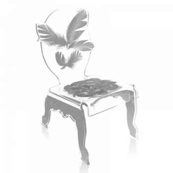 Relax chair plume acrila -rcp