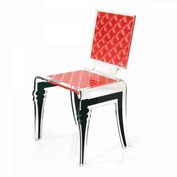 Chaise diam rouge acrila -cdr