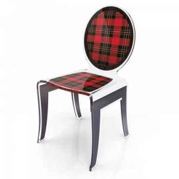 Chaise wild ecossais acrila -cwe