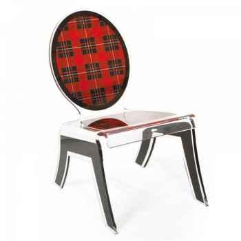 Relax chair wild ecossais acrila -rcwe