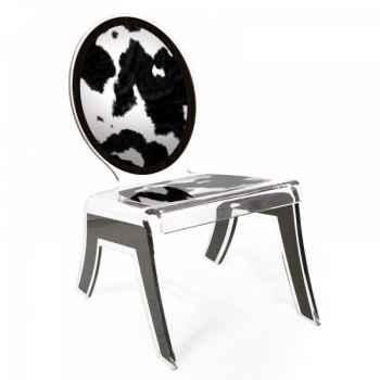 Relax chair wild vache acrila -rcwv