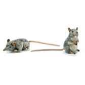 anima peluche rats musques dresse et couche assorties 16 cm 4110