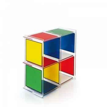 Etagère castelbajac 4 cubes acrila -ec4c