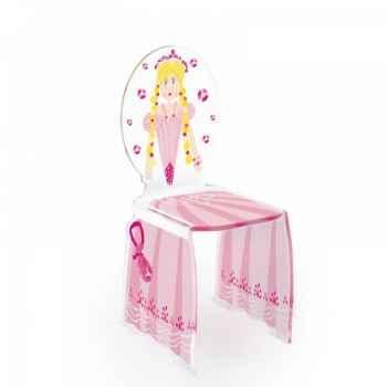 Chaise enfant diloé princesse acrila -cedp