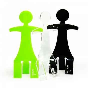 Mannequin enfant transparent acrila -met