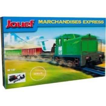 Coffret trains de marchandises électrique jouef hj1000