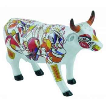 Cow parade -taipei 2009, artiste tseng, hui-chuan - ahead to walk-47373