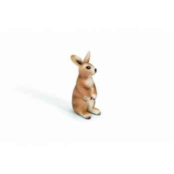 Figurine lapin debout animaux schleich 13672