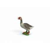 figurine oie cendree animaux schleich 13678