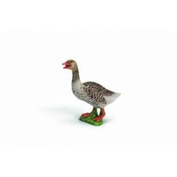 Figurine oie cendrée animaux schleich 13678
