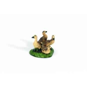 Figurine oisons cendrés animaux schleich 13680