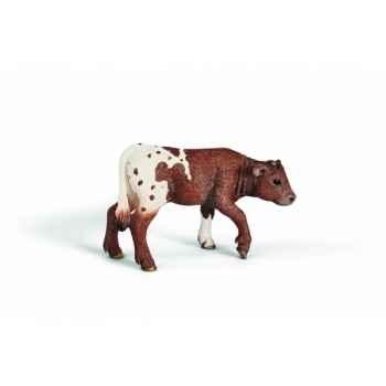 Figurine veau longhorn du texas animaux schleich 13684