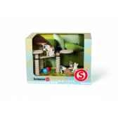 figurine kit decor chats animaux schleich 41801