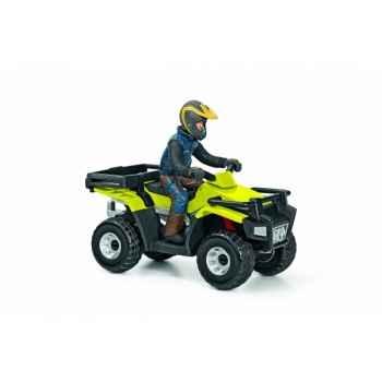 Figurine Quad avec conducteur Schleich 42051