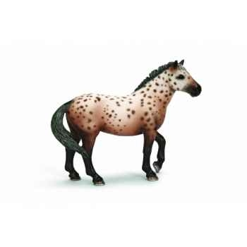 Figurine etalon knabstrupper animaux schleich 13689