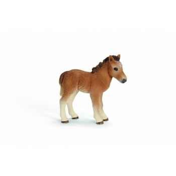 Figurine poulain dartmoor animaux schleich 13691