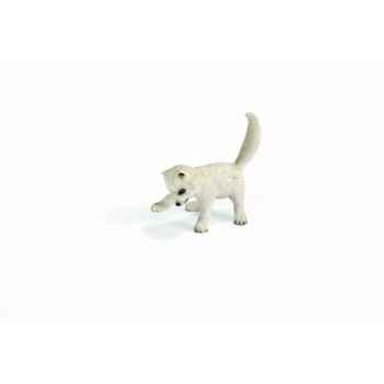 Figurine renardeaux polaires animaux schleich 14639