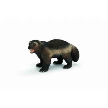 Figurine glouton animaux schleich 14646