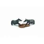 figurine blaireautins animaux schleich 14651