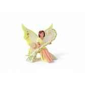 figurine elfe avec harpe animaux schleich 70438