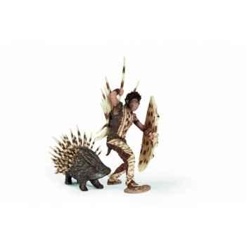 Figurine Fizzio l'homme porc-épic Elfes schleich 70441